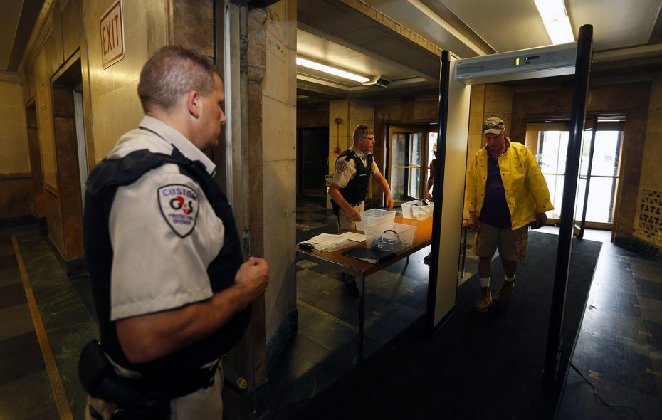 Nobody is surprised by enhanced security at government buildings. (Mark Mulville/News file photo)