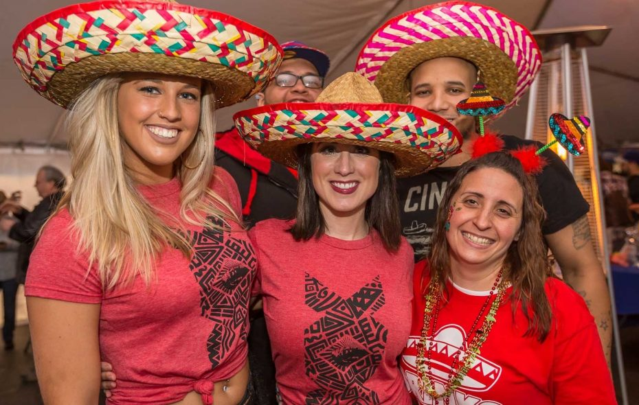 Smiling faces at Deep South Taco's 2017 Cinco de Mayo Street Fiesta, which returns on May 5, 2018. (Don Nieman/Special to The News)