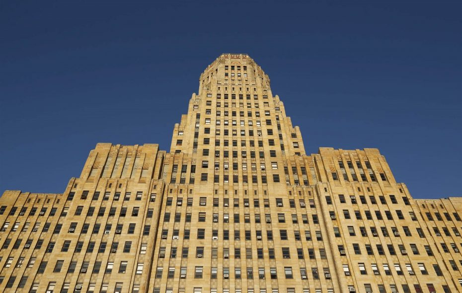 Buffalo City Hall. (Derek Gee/Buffalo News)