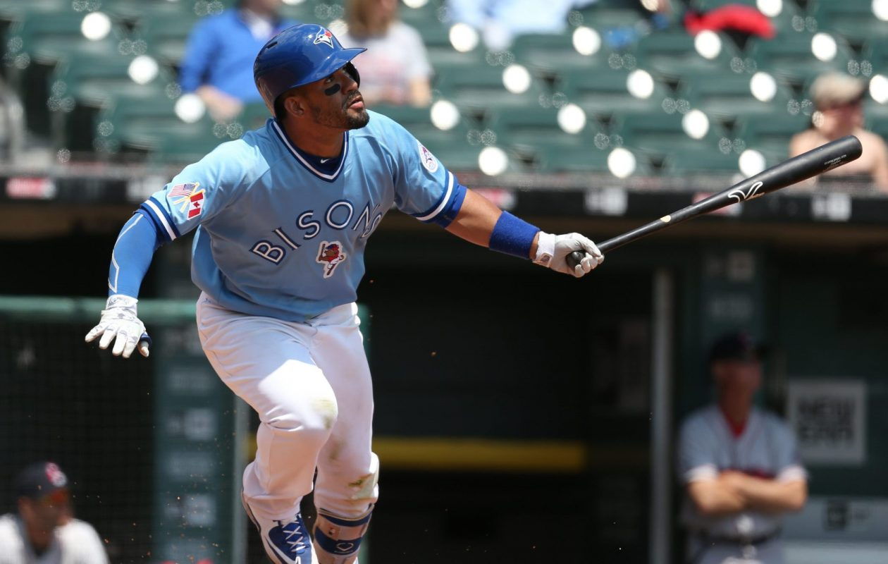Devon Travis extended his hitting streak to eight games. (James P. McCoy/News file photo)