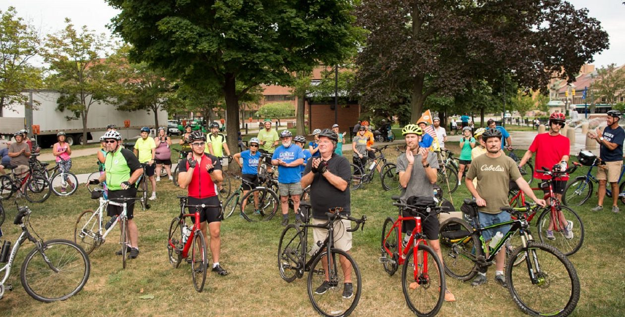 Erie Cyclefest, which takes place in early August in Erie, Pa., will feature two new rides this year: Good Morning Star Shine Ride and Oscar the Grouch's Gravel Grinder. (Photo courtesy of the Erie Sports Commission)