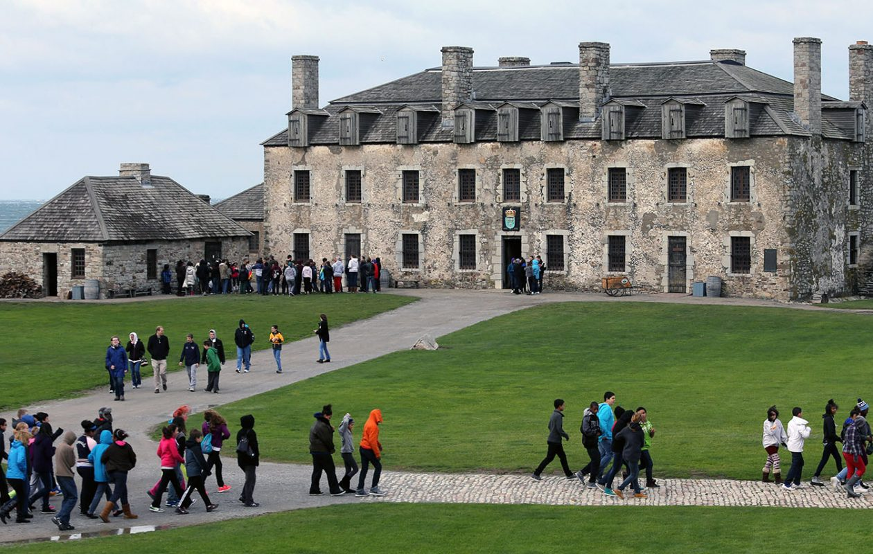 Lodging at Fort Niagara is not a new idea. (News file photo)