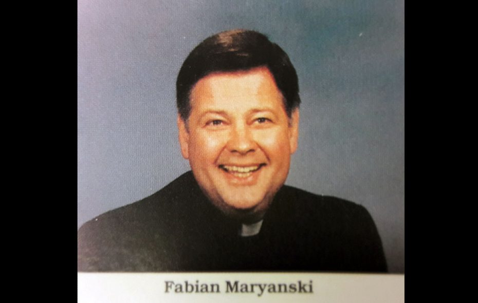 The Rev. Fabian J. Maryanski (Buffalo Diocese's 1995 Priests' Pictorial Directory)