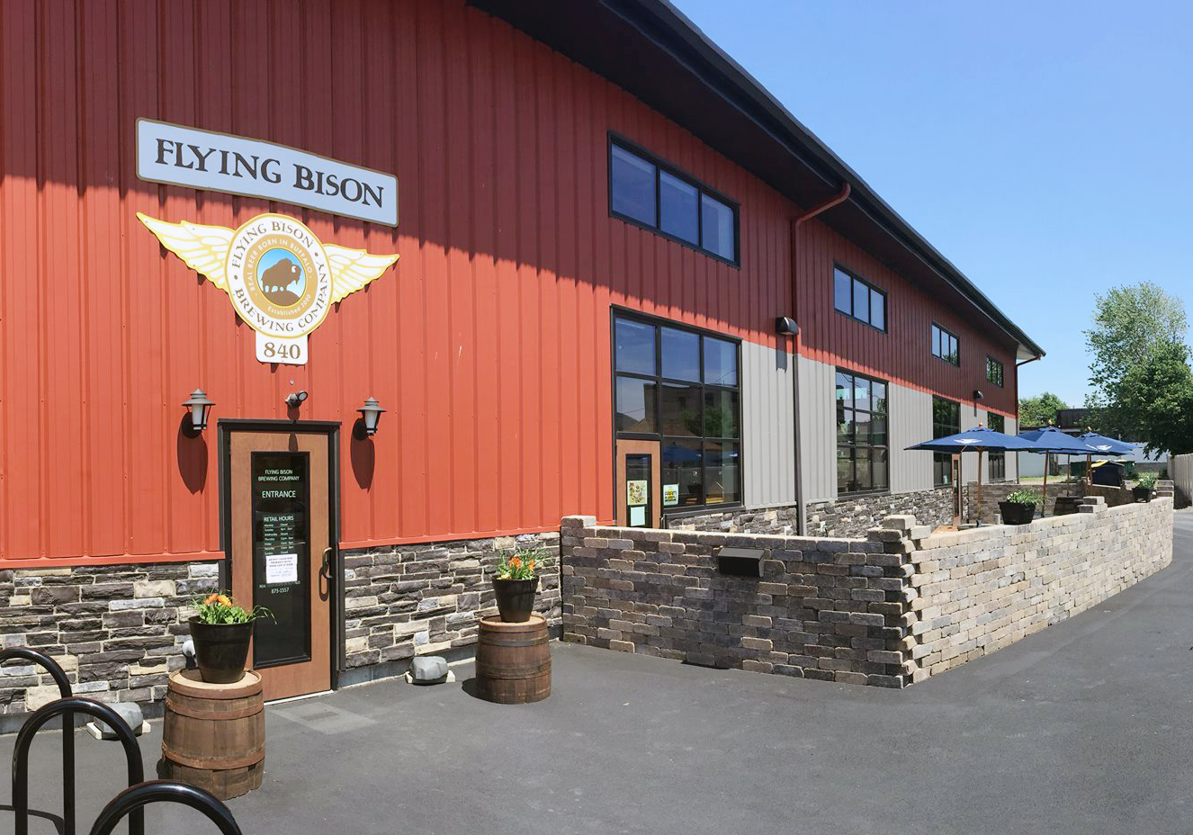 Flying Bison Brew Company | Tasting Trail: Buffalo's homegrown spirits | Discover 2018 | Buffalo Magazine