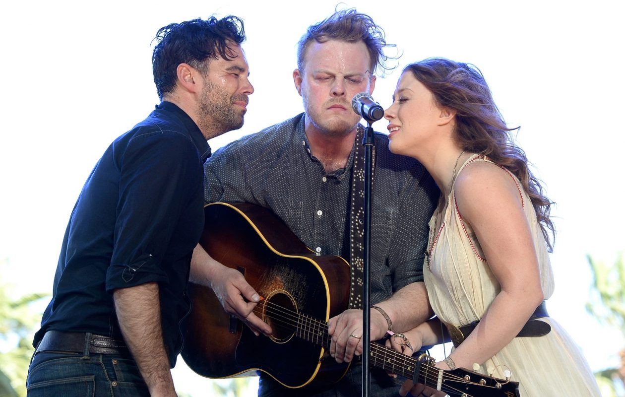 The Lone Bellow, pictured performing in California in 2015, will headline a gig in Asbury Hall. (Frazer Harrison/Getty Images)