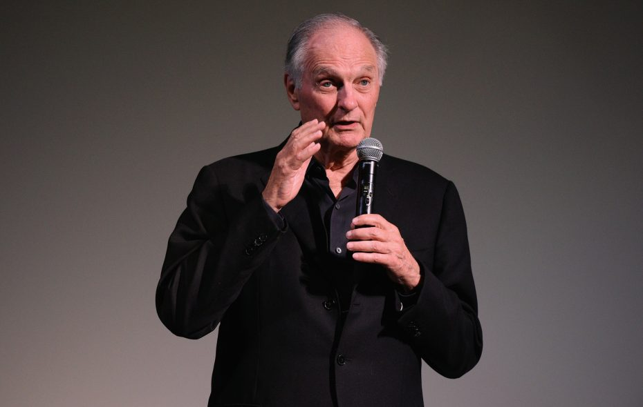 Actor-writer Alan Alda will be the most distinguished person in front of a mic on May 2 in Buffalo, says Jeff Miers. (Matthew Eisman/Getty Images)