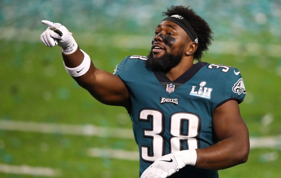 Kenjon Barner won the Super Bowl as a member of the Philadelphia Eagles last season. (Getty Images)