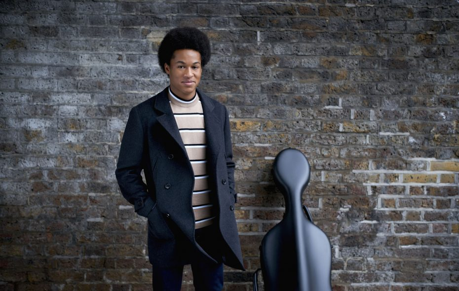 Cellist Sheku Kanneh-Mason, in an undated handout supplied by Kensington Palace. He wore cool socks while performing at the royal wedding May 19. (Photo by Lars Borges/Kensington Palace via Getty Images)