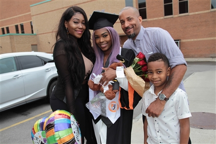 Smiles at SUNY Buffalo State 2018 Graduation
