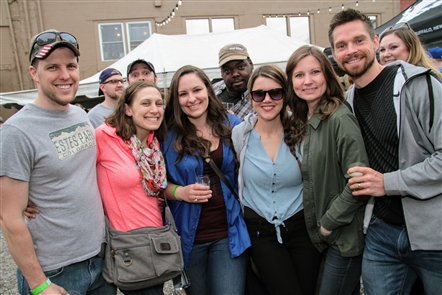 Smiles at Full Circle Fest in 42 North Brewing