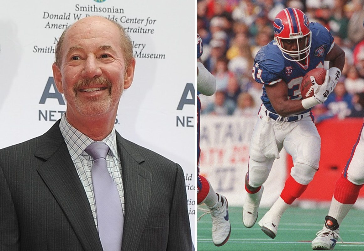 'Pardon the Interruption' personality Tony Kornheiser made a quip about the Bills' plans to retire Thurman Thomas' number. (Getty Images; James P. McCoy/News file photo)