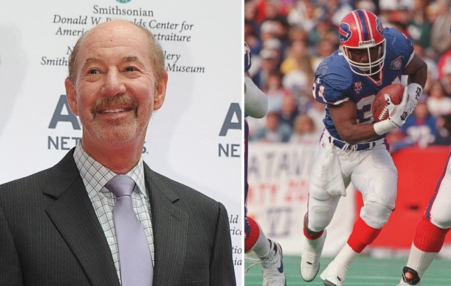 """""""Pardon the Interruption"""" personality Tony Kornheiser made a quip about the Bills' plans to retire Thurman Thomas' number. (Getty Images; James P. McCoy/News file photo)"""