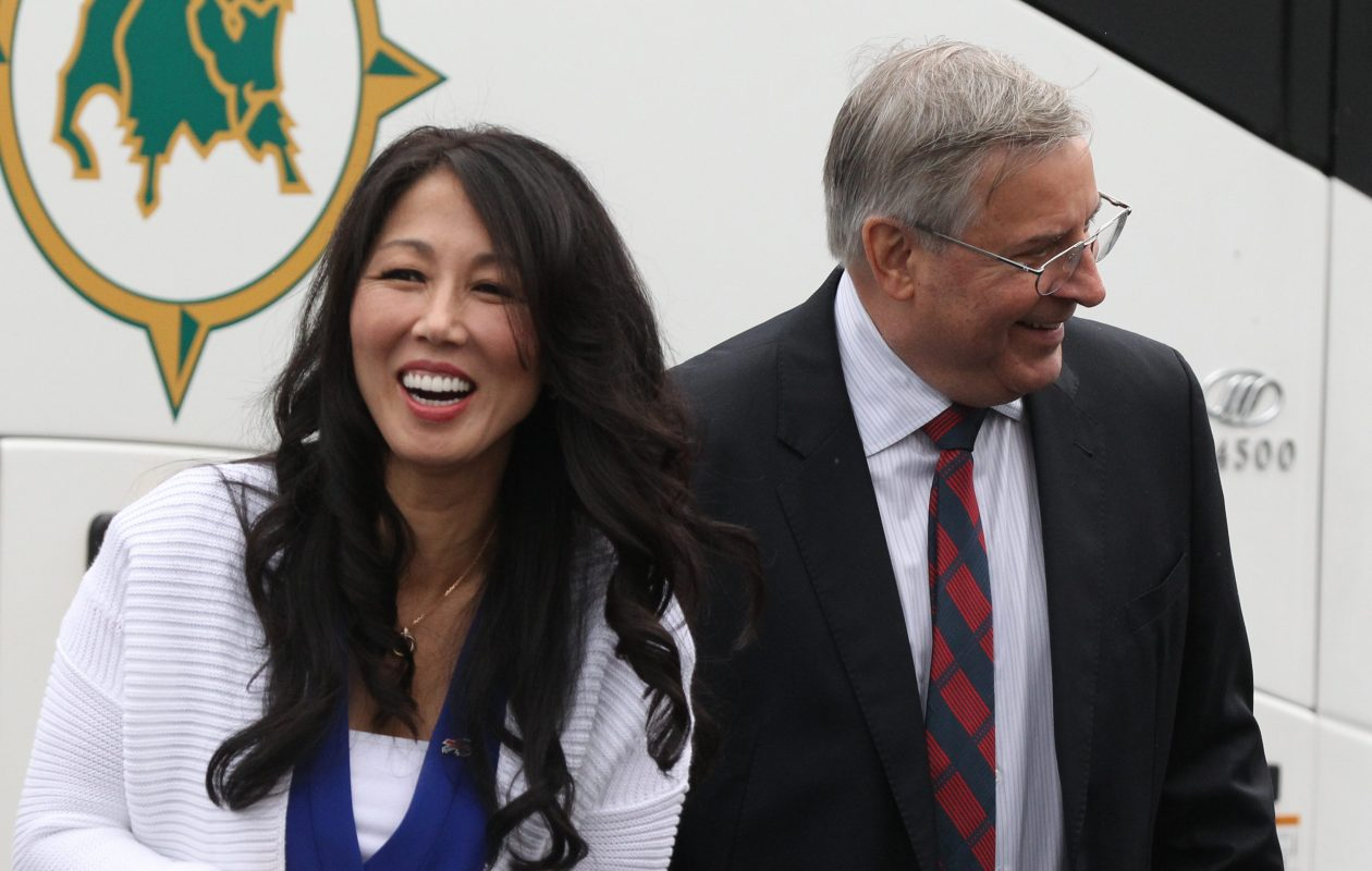 Kim and Terry Pegula, through their East Property Management, bought the 57-acre Aurora estate of Richard E. Garman, the former owner of Buffalo Crushed Stone. (James P. McCoy/Buffalo News file photo)