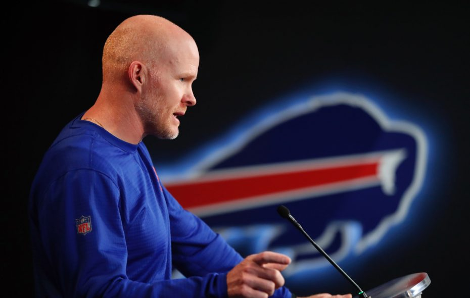Bills coach Sean McDermott. (Harry Scull Jr./News file photo)