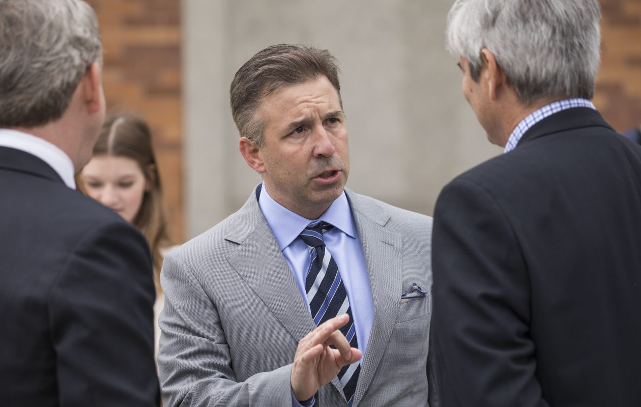 Local business leaders marveled at Russ Brandon's ability to keep fans buying tickets and to keep businesses tied to the Bills during a period when the team couldn't sell a winning product. (Derek Gee/News file photo)