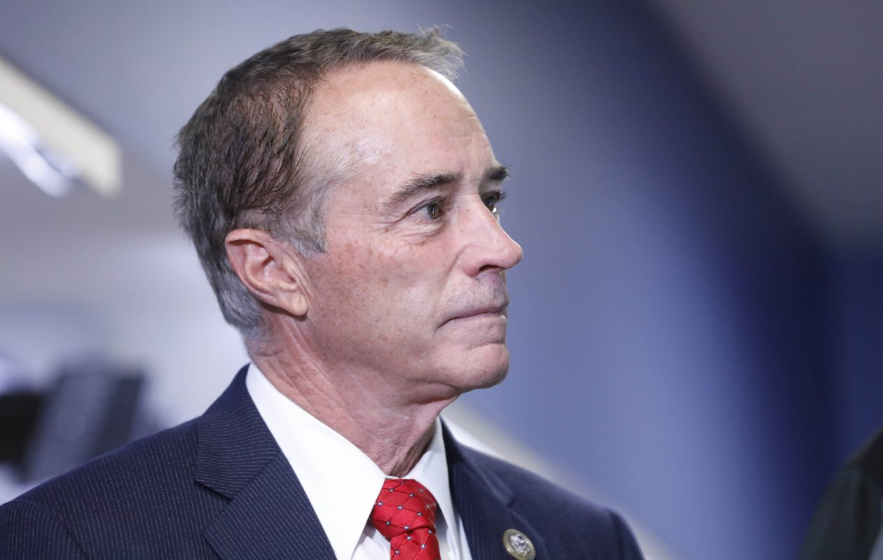Rep. Chris Collins worked with Sen. Charles Schumer to get the bill passed. (Derek Gee/Buffalo News)