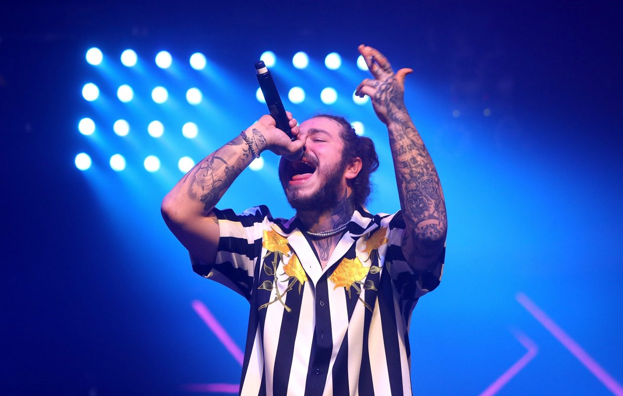 Post Malone will perform a sold-out show at Darien Lake Amphitheater. (Getty Images)