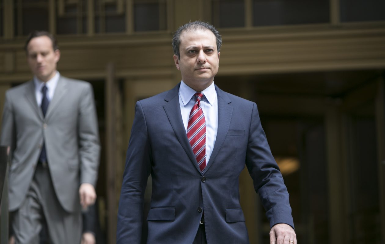 Preet Bharara, the former U.S. attorney in Manhattan, is emerging as a potential candidate for state attorney general. (Anthony Lanzilote/The New York Times file photo)