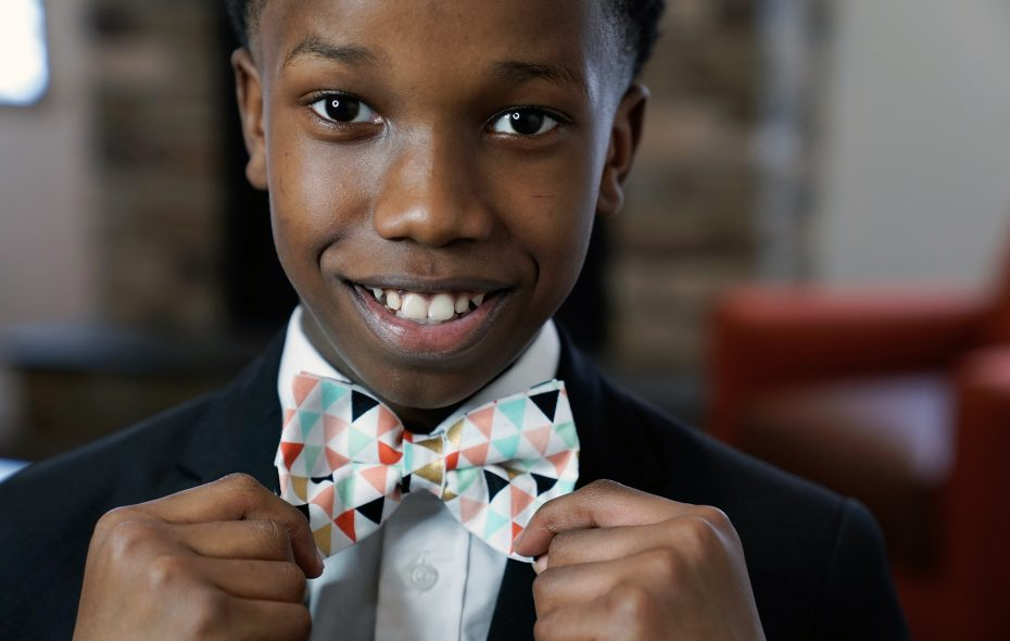 When sharp-dressed Sheldon Gibbs wasn't able to find bow tie designs he loved, he decided to make them himself ­­— and a business was born. (Dave Jarosz)
