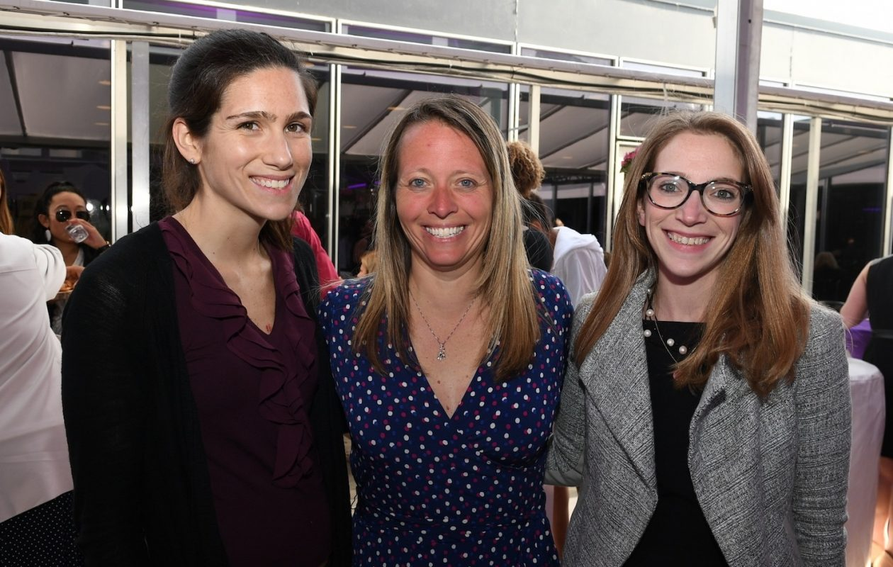Smiles at a 2018 WNY Women's Foundation event, What's She Made Of. (Nancy J. Parisi/Special to The News)