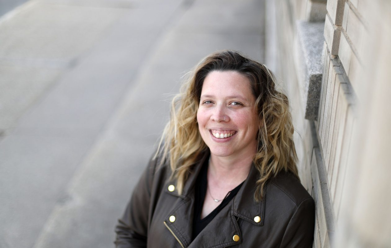 Accepting a mental illness won't eliminate hope, says Tara Porter, director of Compeer Niagara outside her office in Lockport . 'It will fuel it.'  (Mark Mulville/Buffalo News)