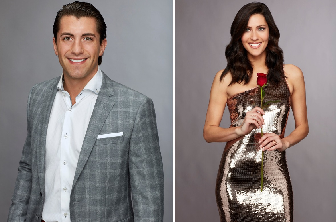 Buffalo native Jason Tartick, left, and Becca Kufrin from last season's 'The Bachelorette.' (Craig Sjodin/ABC)