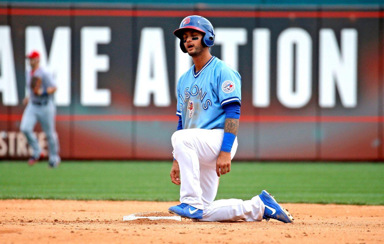 Tim Lopes has 10 stolen bases this season. (Robert Kirkham/Buffalo News)