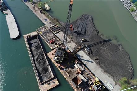 Unity Island wetland restoration