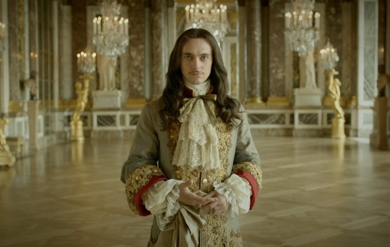 George Blagden plays the ambitious King Louis XIV in the sumptuous Netflix series 'Versailles.' (Netflix)