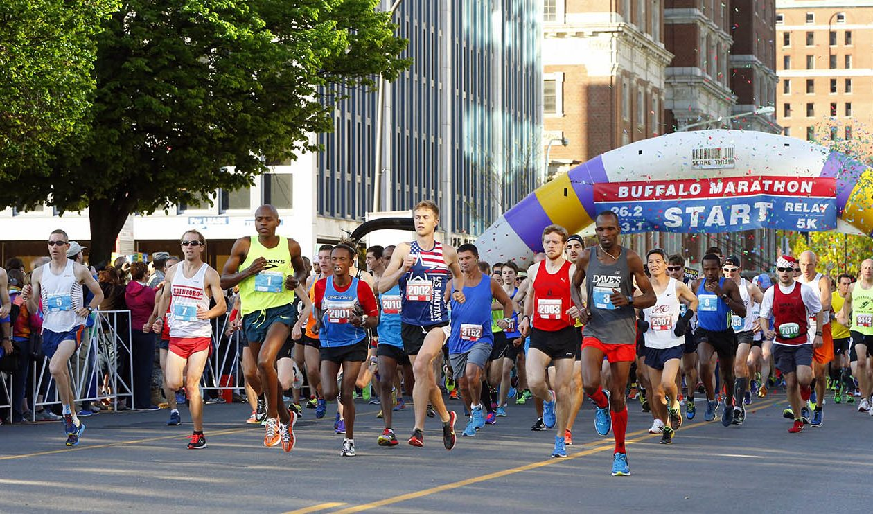 The 2018 Buffalo Marathon takes place Sunday, May 27. (Harry Scull Jr./News file photo)