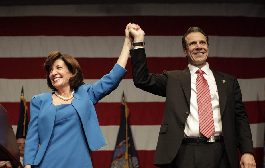 Lt. Gov. Kathy Hochul is now expected to have smooth sailing at the state Democratic convention this week, while Republicans will be buoyed at their convention by a challenge from the left that could pose complications for Gov. Andrew M. Cuomo. (Derek Gee/News file photo)