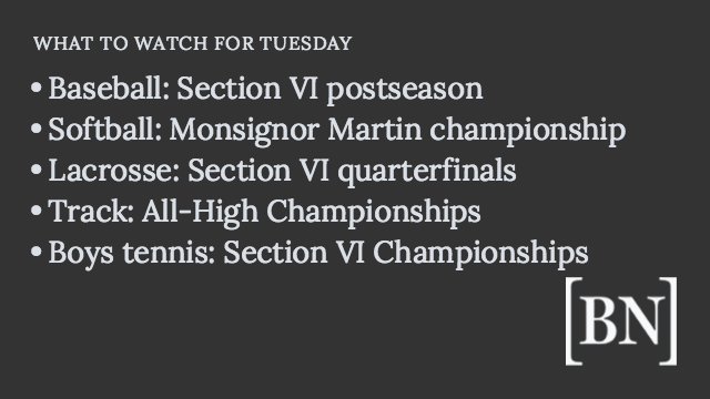 Homeroom Announcements: Tuesday's big games & more