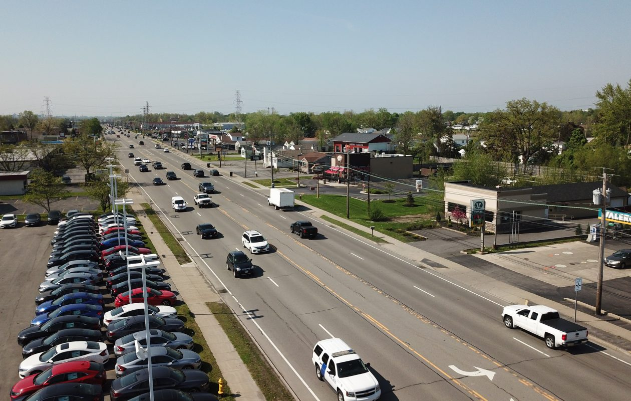Amherst and Tonawanda are trying to improve Niagara Falls Boulevard, including investigating what can be done to improve safety after six pedestrian fatalities in the past few years. (John Hickey/Buffalo News)