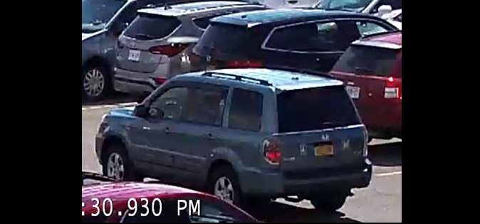 Cheektowaga police released this surveillance image on Wednesday of the May 13 shooting outside the Walden Galleria.