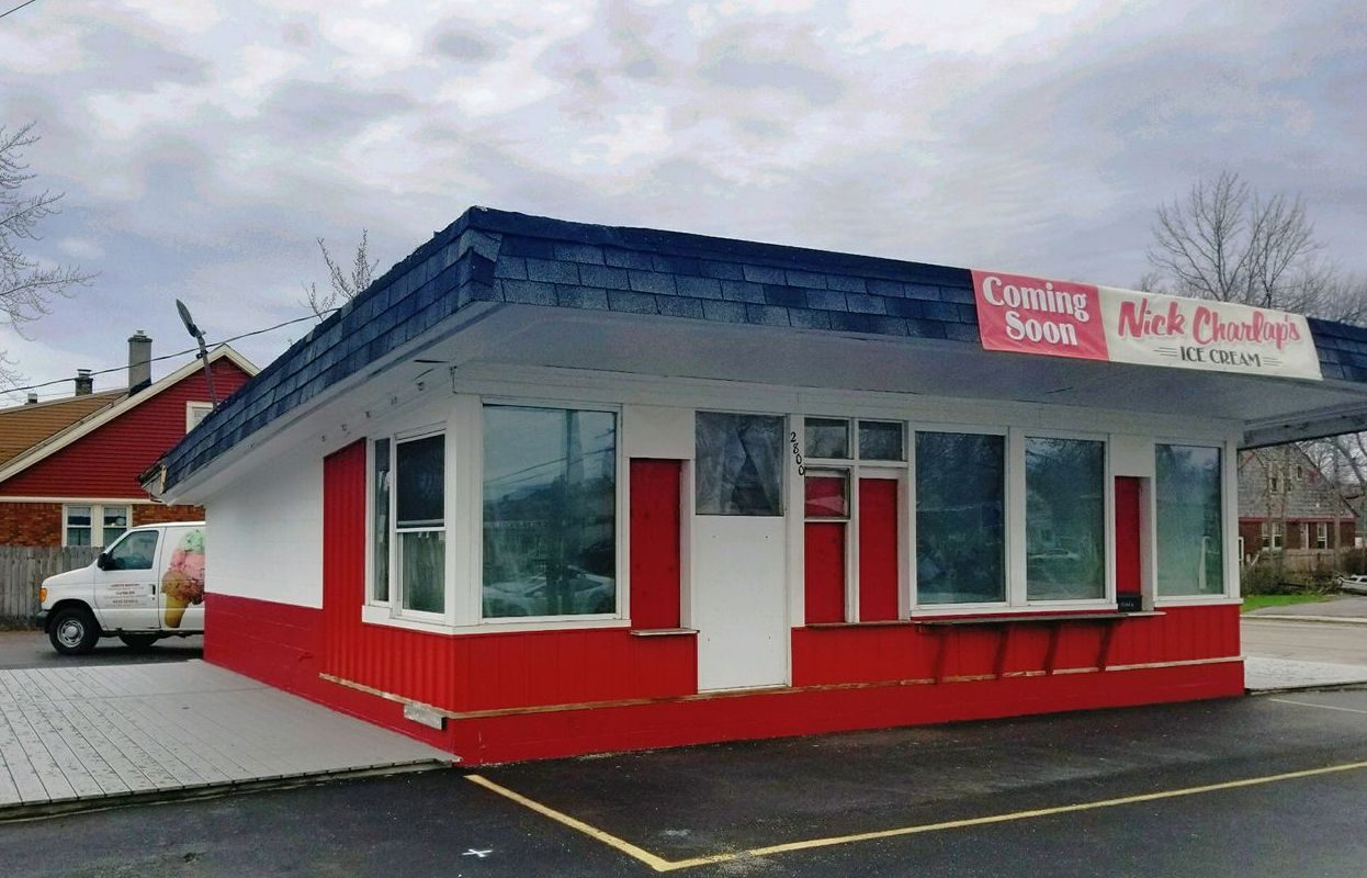 The new Nick Charlap's location will offer ice cream only its first day of operation. (Nick Charlap's Ice Cream)