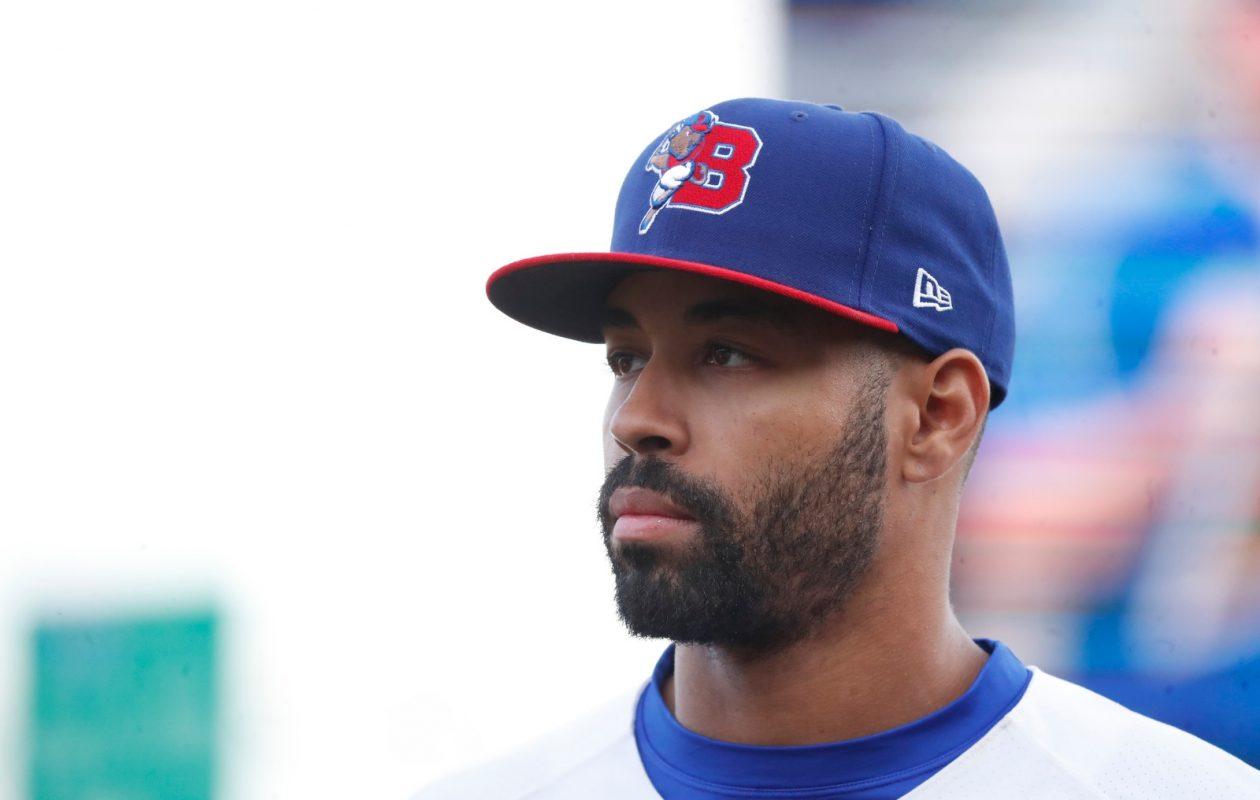 Dalton Pompey. (Harry Scull Jr./News file photo)