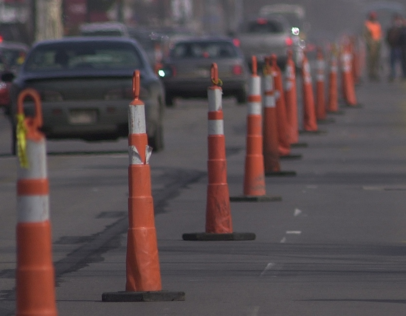 Roadwork at Delaware and West Eagle starts Thursday