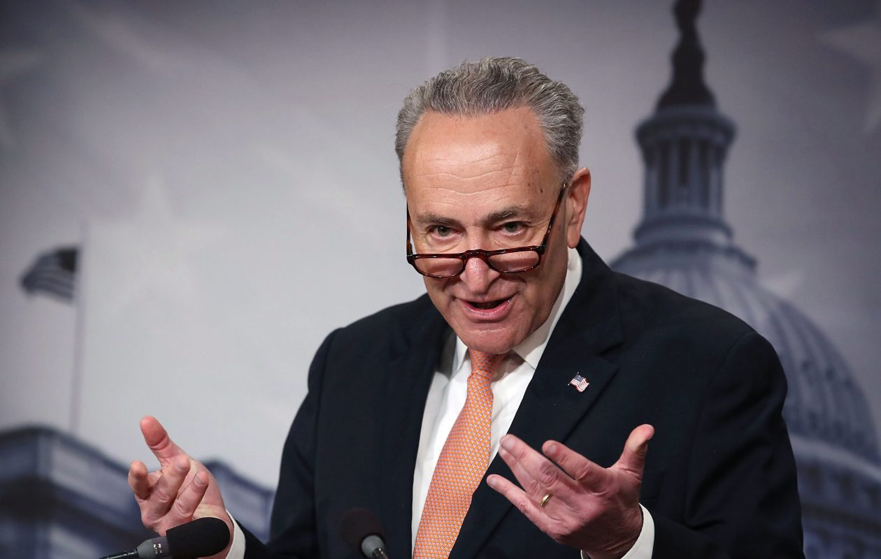 Senate Minority Leader Charles E. Schumer. (Mark Wilson/Getty Images file photo)