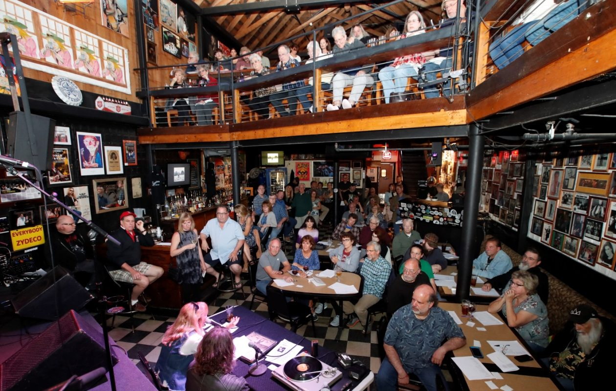 The Sportsmen's Tavern hosts Gusto Vinyl Happy Hour on the second Monday of each month. (Harry Scull Jr./Buffalo News)