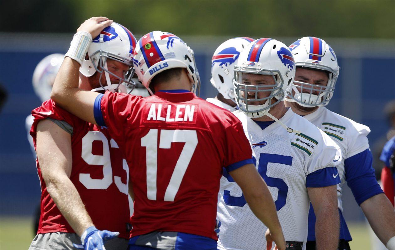 Josh Allen. (Harry Scull Jr./Buffalo News)