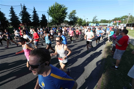 Taking it to the streets: J.P. Morgan Corporate Challenge