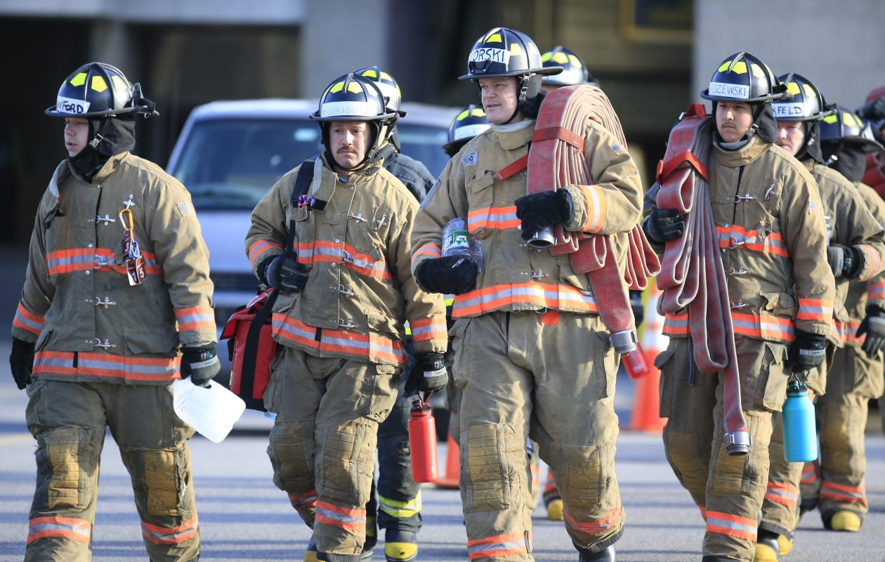 The City of Buffalo will pay $1.2 million to white firefighters who were illegally denied promotions as part of an otherwise valuable effort to improve diversity in the department's ranks. (Harry Scull Jr./Buffalo News)