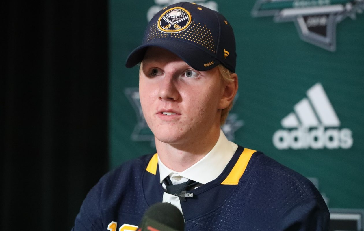 Rasmus Dahlin has signed his first Sabres contract. (James P. McCoy/News file photo)