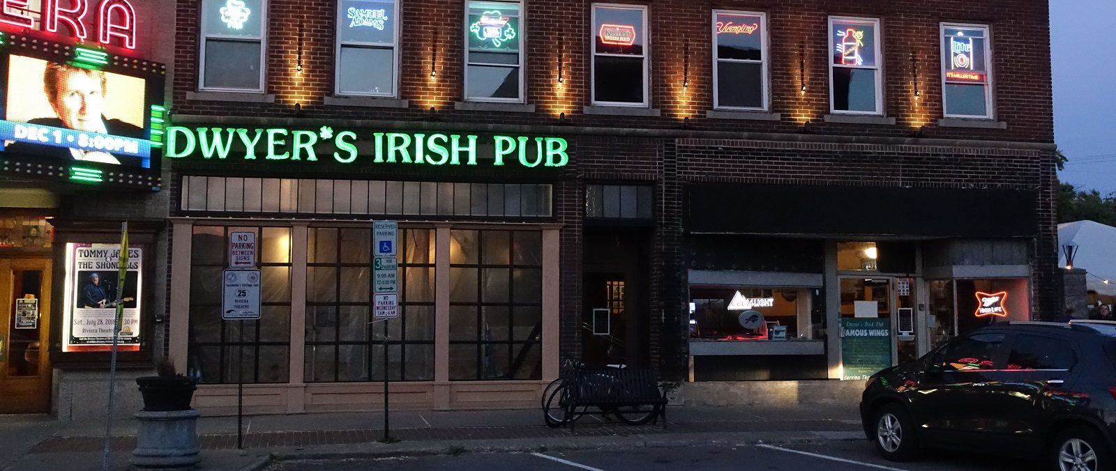 Dwyer's, a fitting spot to spend St. Patrick's Day, is also known for its wings. (John Hickey/Buffalo News file photo)