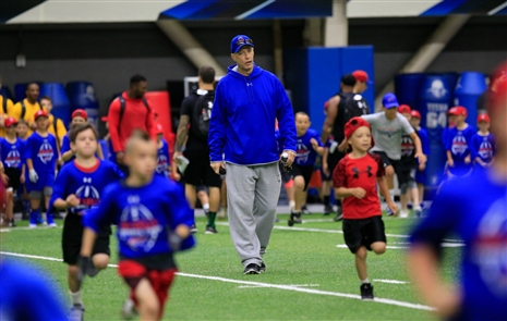 The 31st Annual Jim Kelly Football Camp at New Era Field on Monday, June 25, 2018.