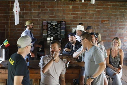 Cantina at Duende in Silo City: Bar feature