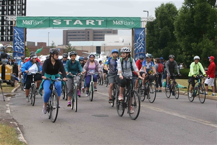 Thousands came out for the annual Ride For Roswell bicycling event on Saturday, June 23, 2018.