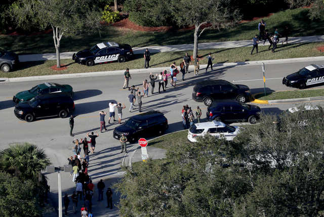 While school officials have a responsibility to respond to the kinds of dangers that played out at Stoneman Douglas High School in Parkland, Fla., the plan at Lockport schools to use facial recognition technology is a questionable use of money. (Mike Stocker/Sun Sentinel/TNS)