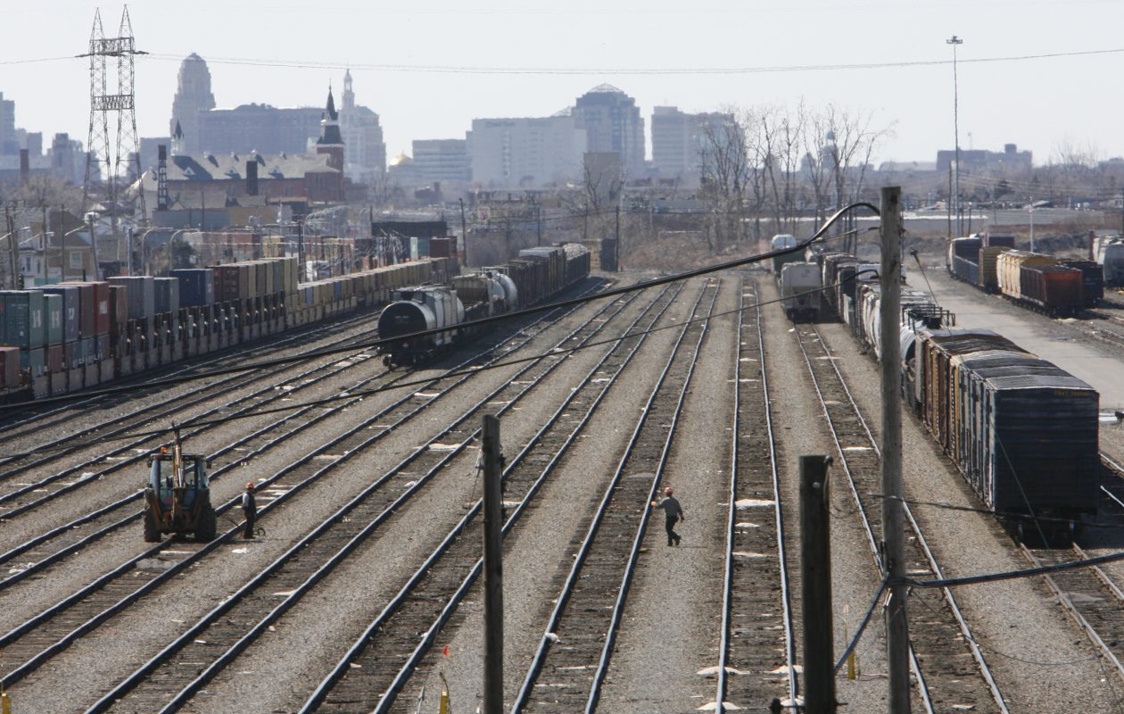 Inspections were conducted at CSX Transportation Frontier Yard at 1836 Broadway in Cheektowaga, as well as in  Buffalo. (Derek Gee/Buffalo News file photo)