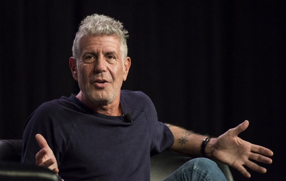 Anthony Bourdain, here at South By Southwest (SXSW) in Austin, Texas, in 2016. (David Paul Morris/Bloomberg)